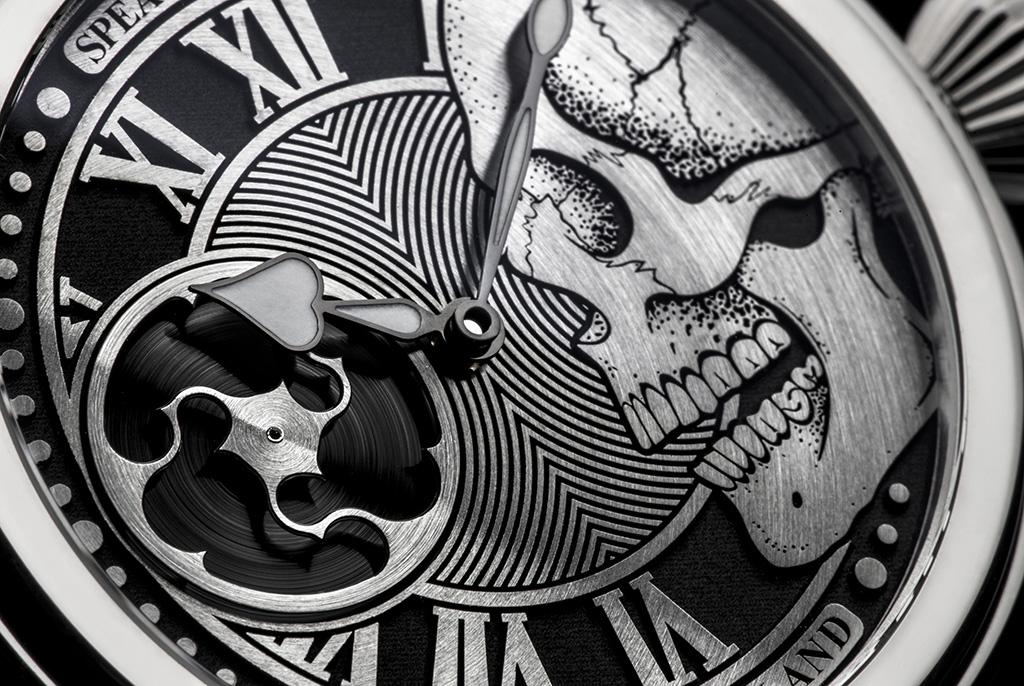 Speake-Marin schedel