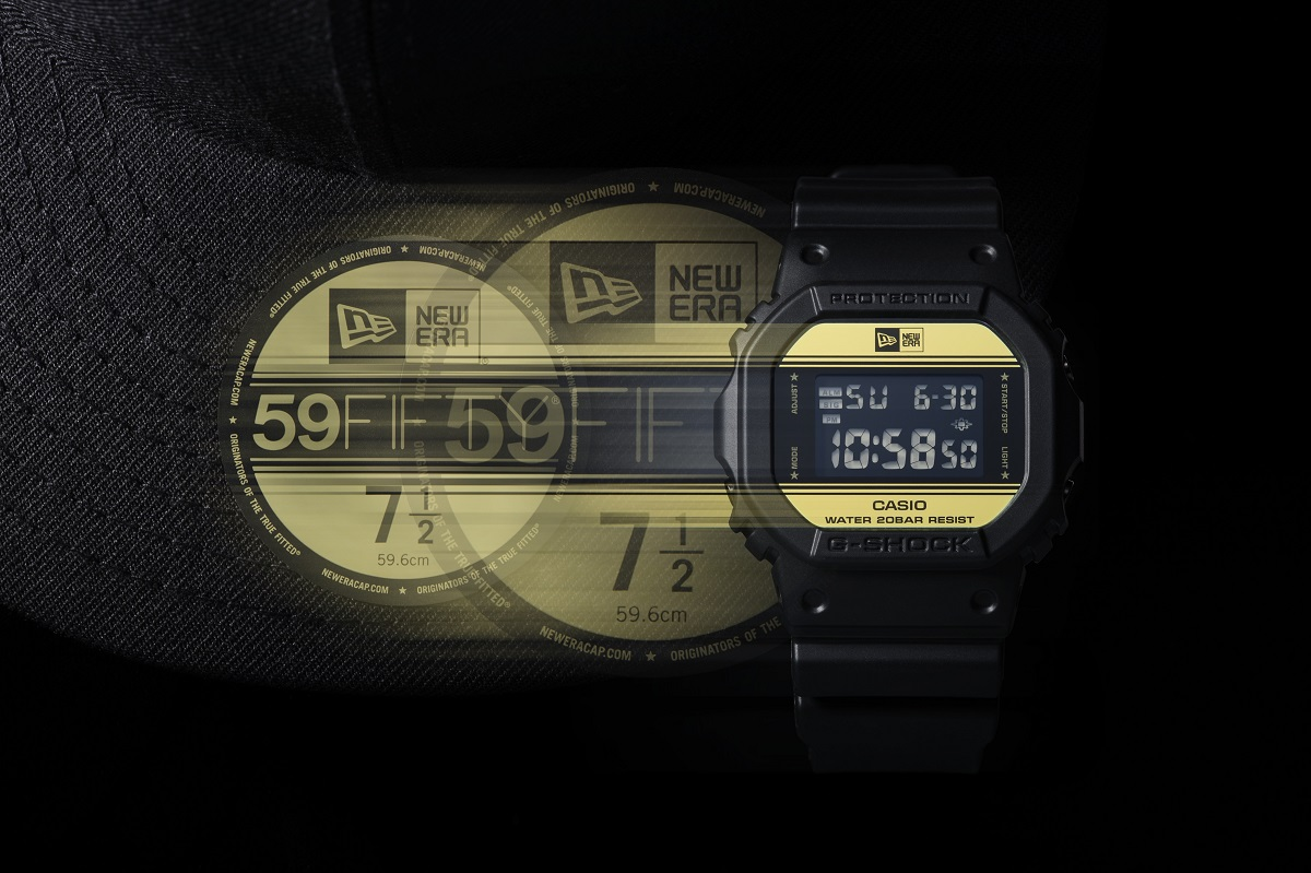 Casio G-Shock x New Era Limited Edition (DW-5600NE-1)