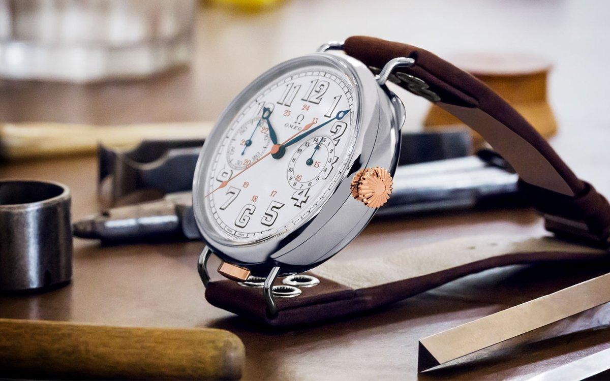 De Omega First Wrist-Chronograph Limited Edition is voer voor liefhebbers en verzamelaars
