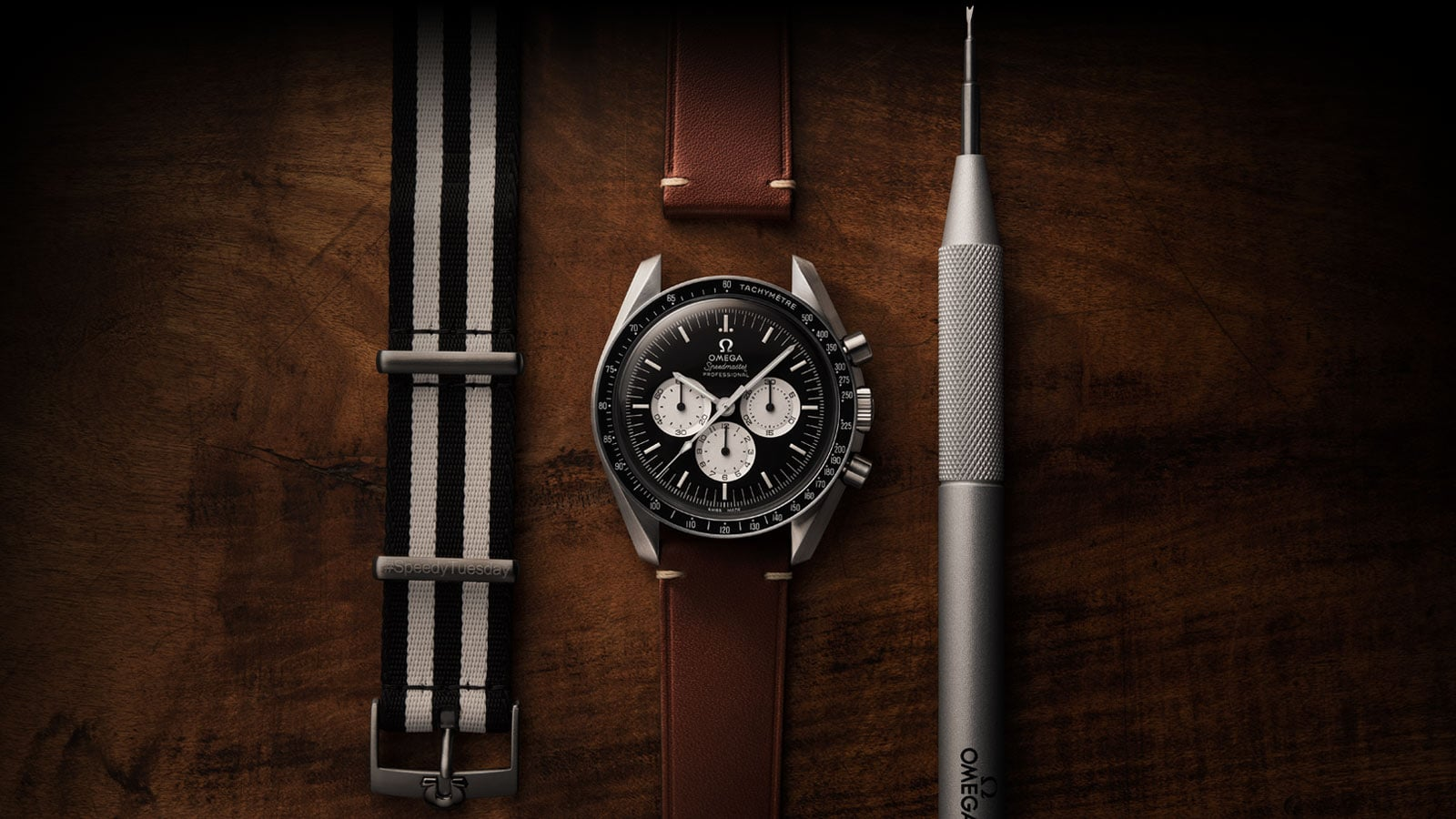 De eerste Speedy Tuesday Speedmaster