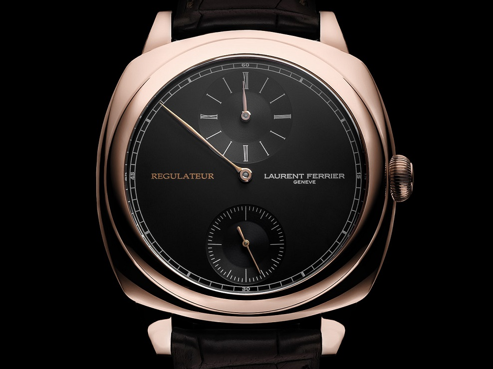 Laurent Ferrier Galet Square Régulateur Black cover