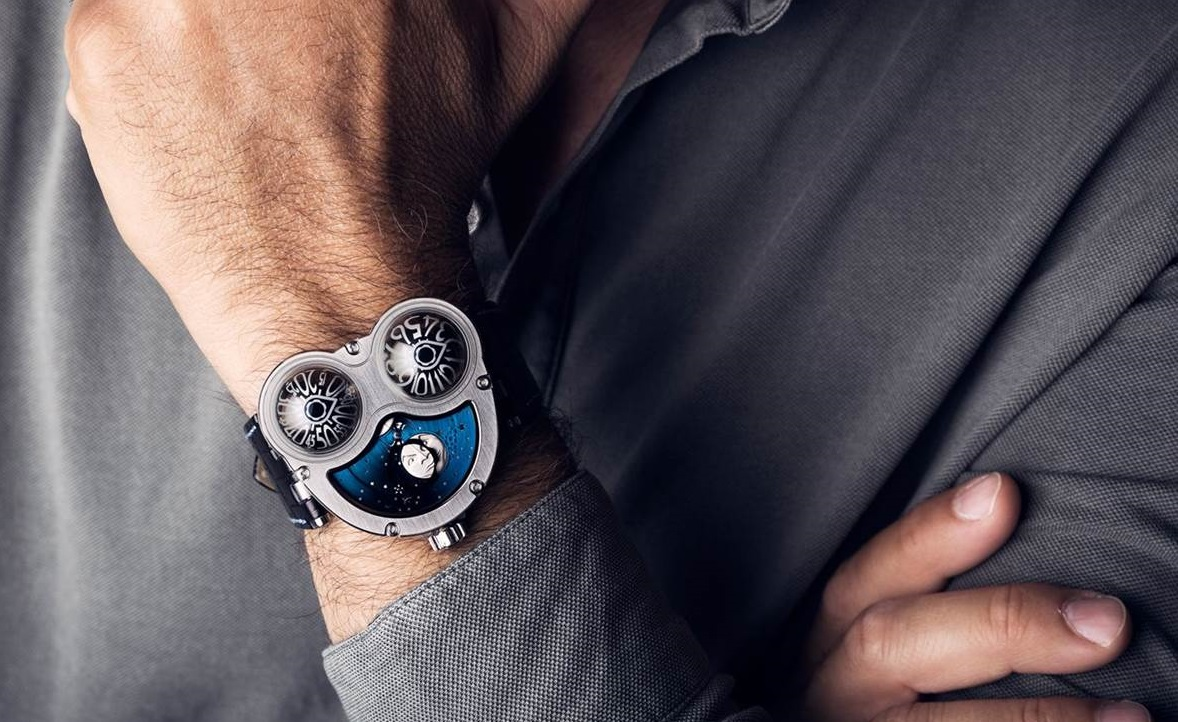 MB&F Moonmachine Ti
