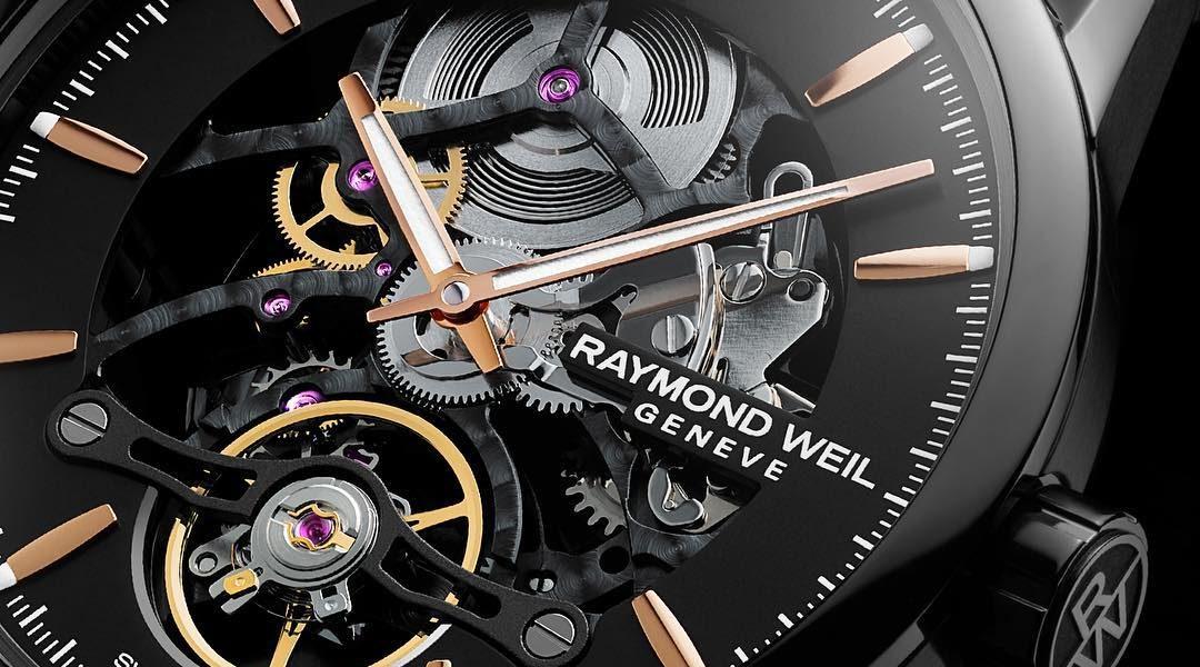 Raymond Weil Freelancer Calibre RW1212 Skeleton in detail