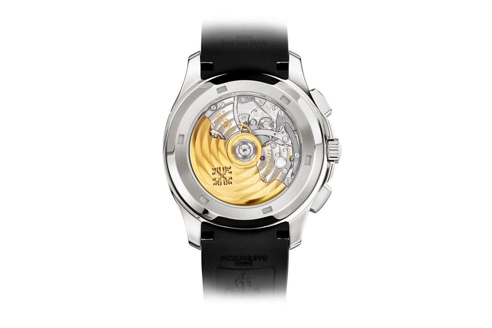 Het automatische in de Aquanaut Chronograph Ref. 5968A-001