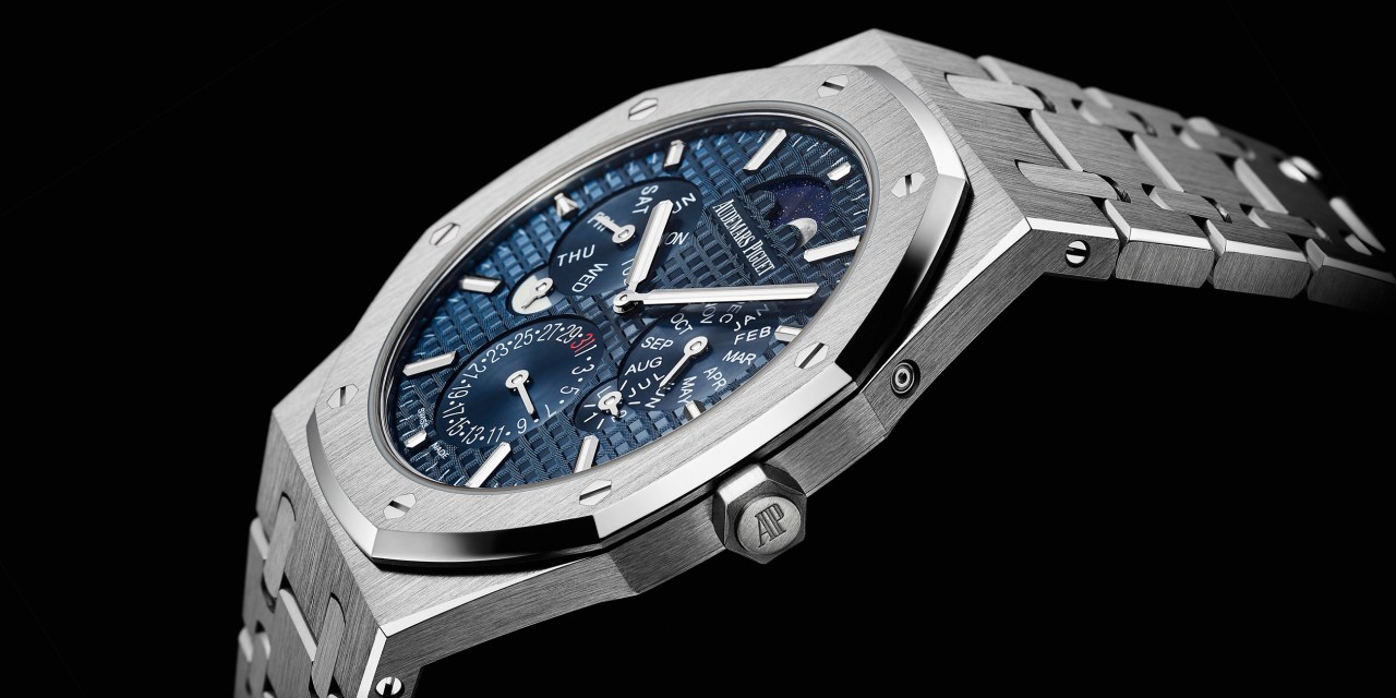 De slechts 6,3 mm hoge Audemars Piguet Royal Oak RD#2 Perpetual Calendar Ultra-Thin