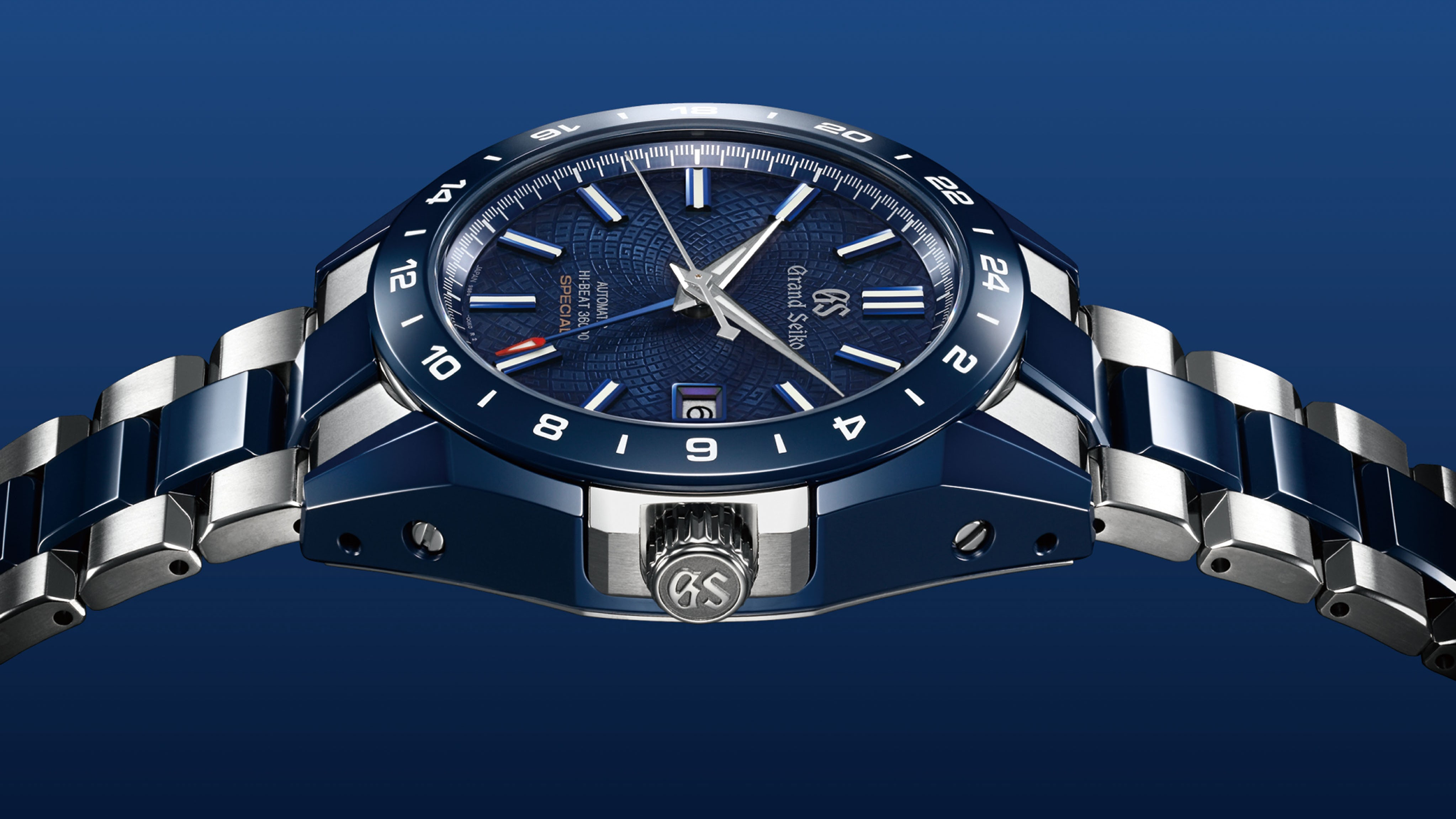 Grand Seiko Blue Ceramic Hi-Beat GMT 36000 Limited Edition