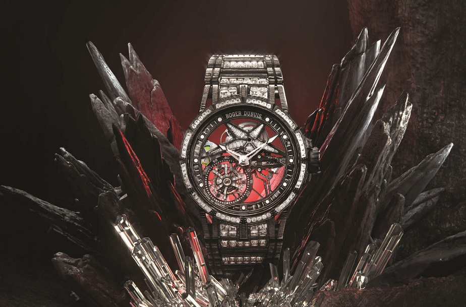 De Roger Dubuis Excalibur Spider Ultimate Carbon hyperwatch