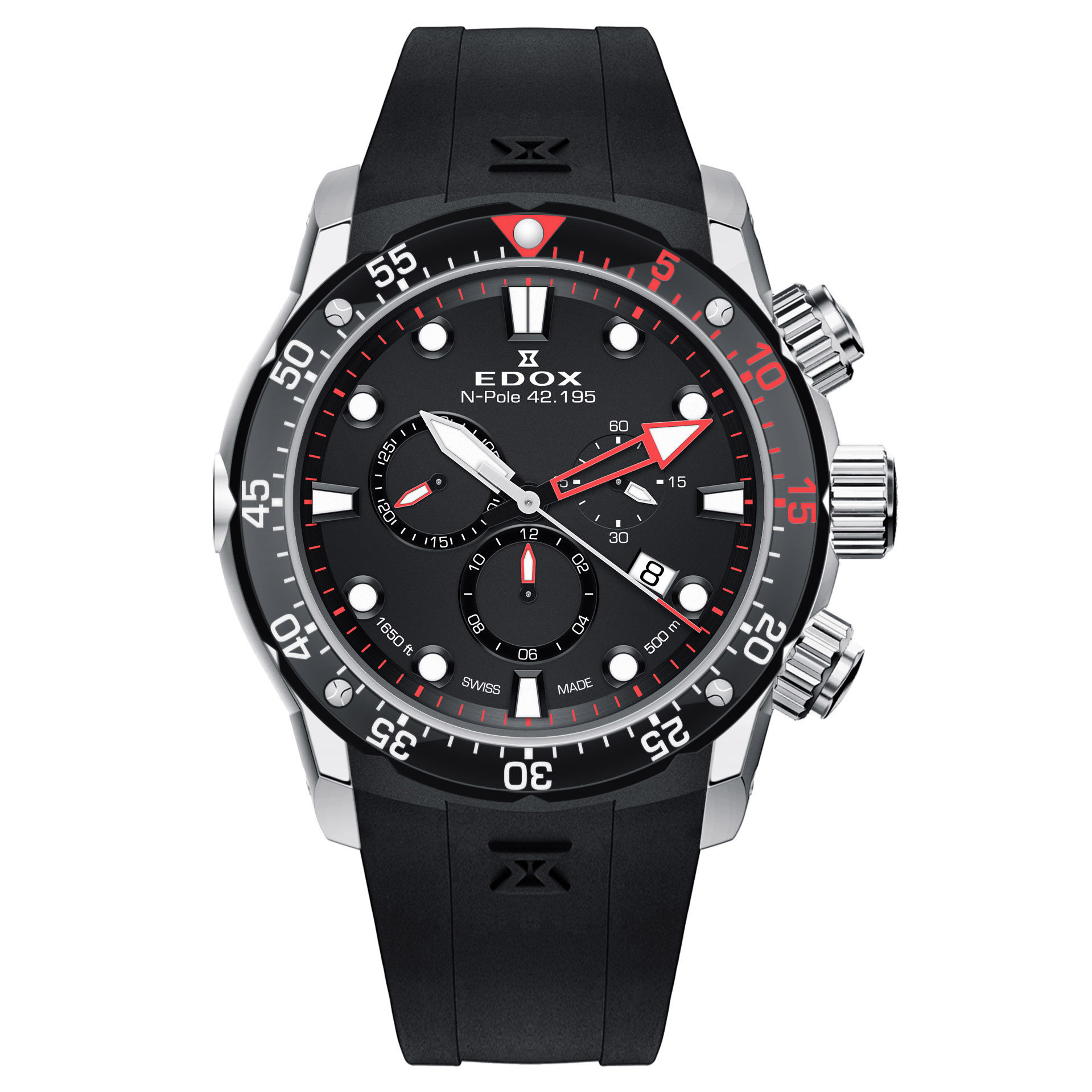 Edox N-Pole 42.195 Limited Edition