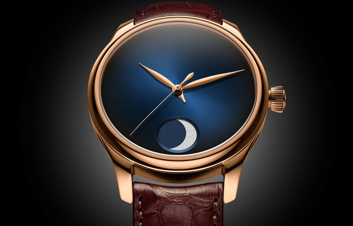 H. Moser & Cie. Endeavour Perpetual Moon Concept in roodgoud