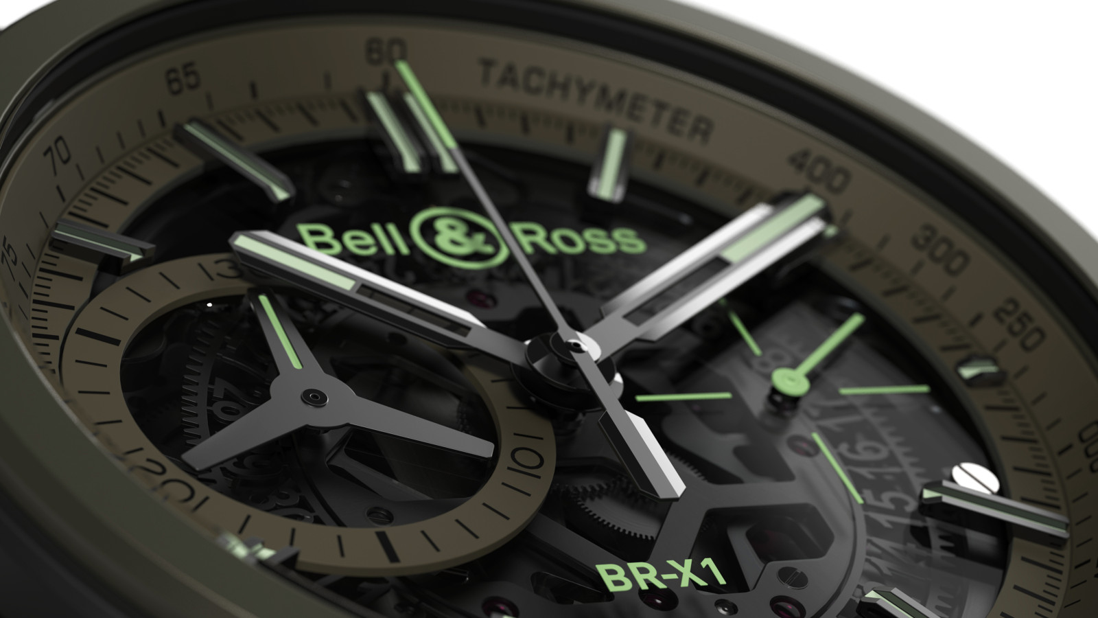 Bell & Ross BR-X1 Military cover