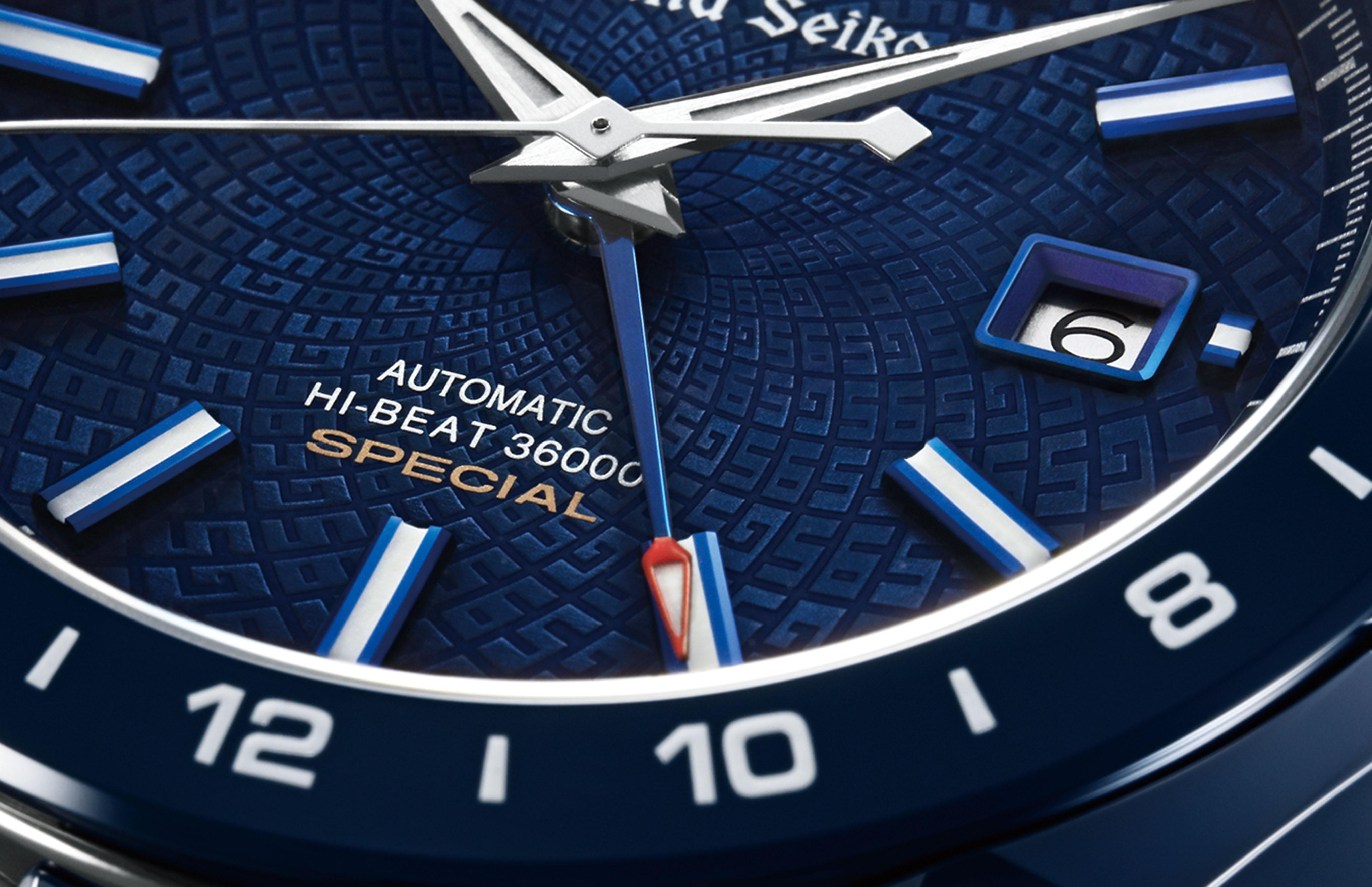 Grand Seiko Blue Ceramic Hi-Beat GMT Special Limited Edition SBGJ229