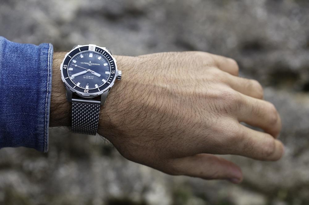 De nieuwe Ulysse in Diver 42mm