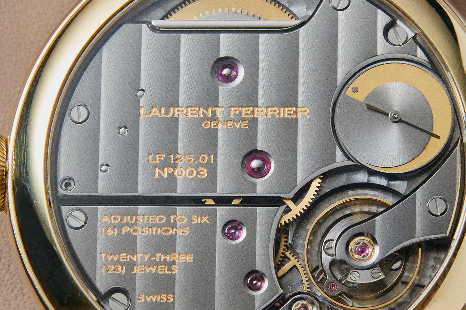 Pre-SIHH 2019-nieuws van Laurent Ferrier