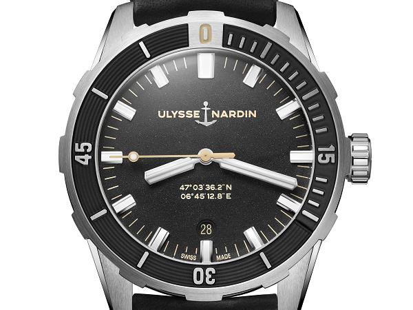 Nieuwe Ulysse Nardin Diver 42mm