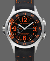 Hamilton GMT Air Race Khaki