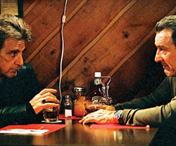 Robert de Niro en Al Pacino in Righteous Kill