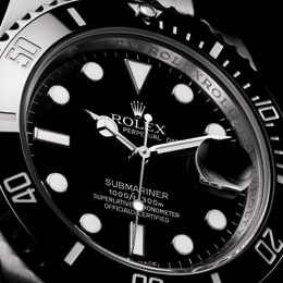 Rolex Submariner met zwarte Cerachrom inlay