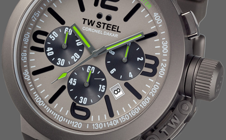 TW Steel Coronel Dakar 2012 Limited Edition