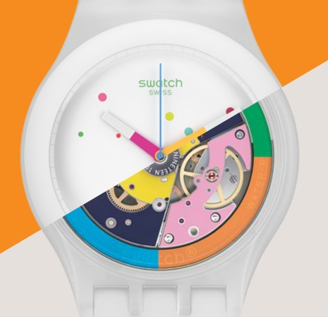 Swatch Sistem51 in wit