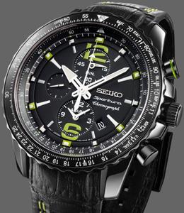 34eb3b2195889f Seiko heeft een nieuw model voor Sportura-collectie gelanceerd  de  alarm-chronograaf voor piloten. De sponsor van FC Barcelona kent weliswaar  een lange en ...
