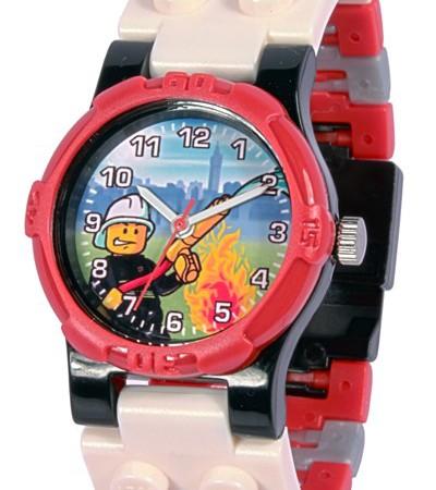 Lego-horloge-city-brandweerman