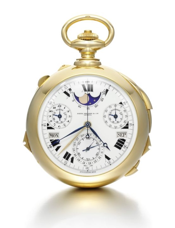 The Henry Graves Supercomplication - Mean Time Dial LR