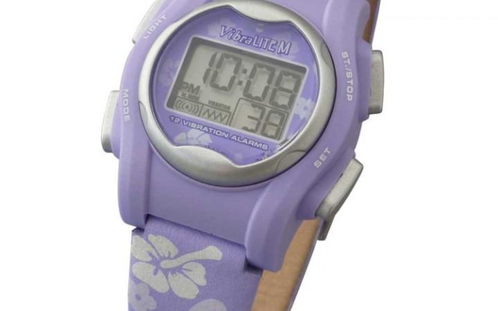 vibral-Lite®mini-12-alarmen-horloge-paars