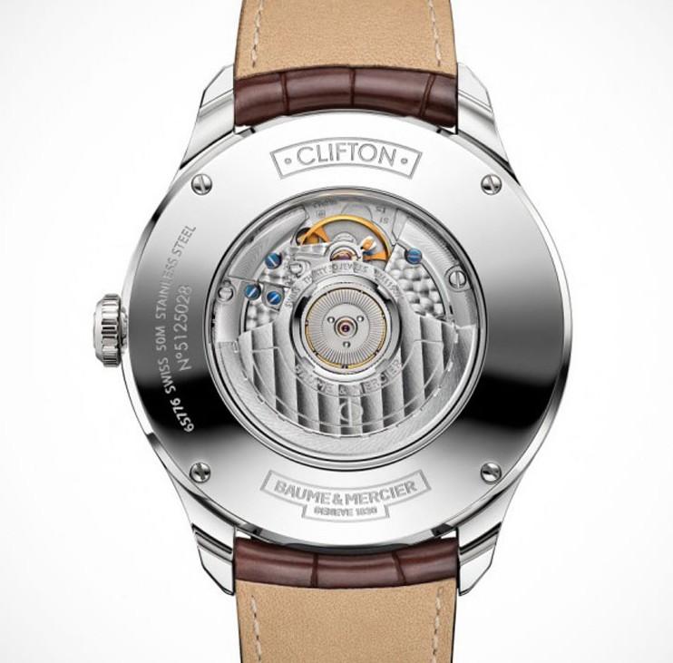 Baume-Mercier-Clifton-Automatic-Big-Date-and-Power-Reserve-achterzijde