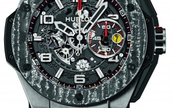Hublot horloge Big Bang Ferrari Carbon King titanium
