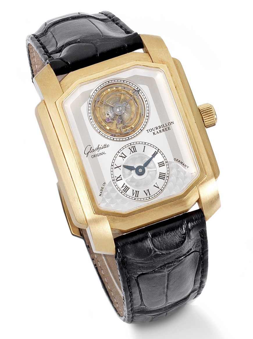 Bonhams-van-wassenaer-Glashutte tourbillon wristwatch
