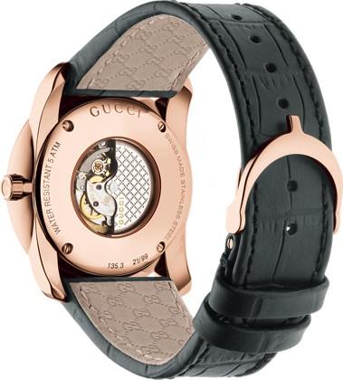 Gucci automatisch dames horloge backcase