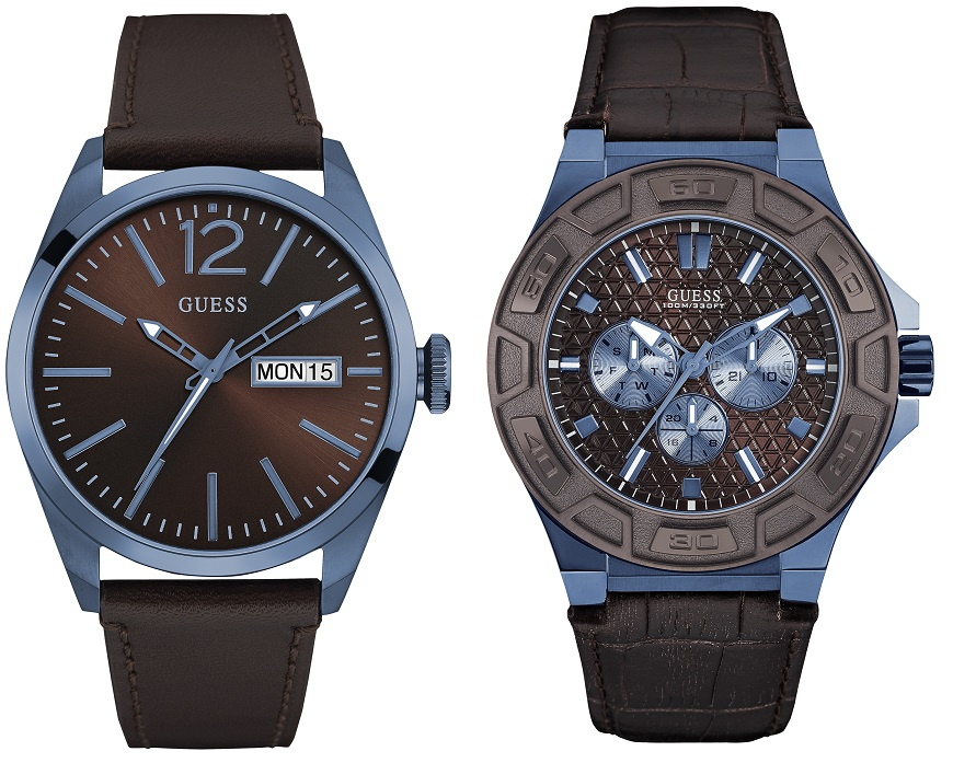 GUESS_Watches Sky blue herenhorloges-2016-W0658G8-Prijs_189euro en W00674G5 249 euro