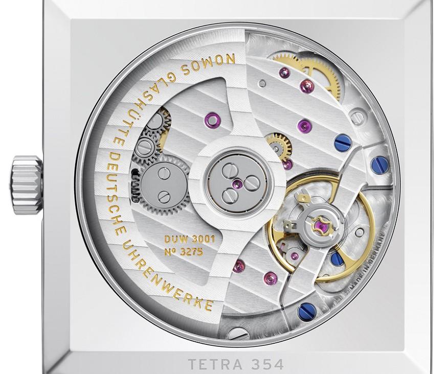 Nomos Tetra Neomatik 33 mm herenhorloge