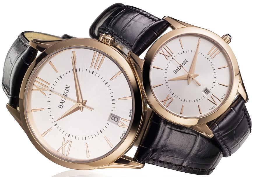 Balmain Classic R Grande pair watches_