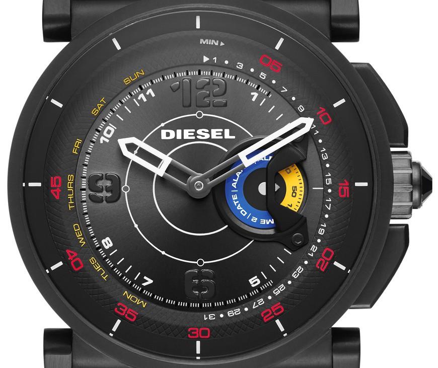 DieselOn Time hybrid smartwatch