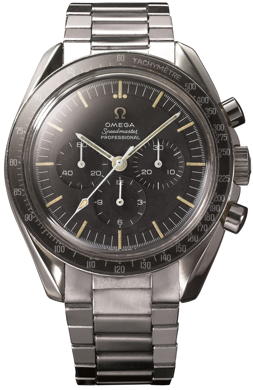 De 1964 Speedmaster Moonwatch, kaliber 321