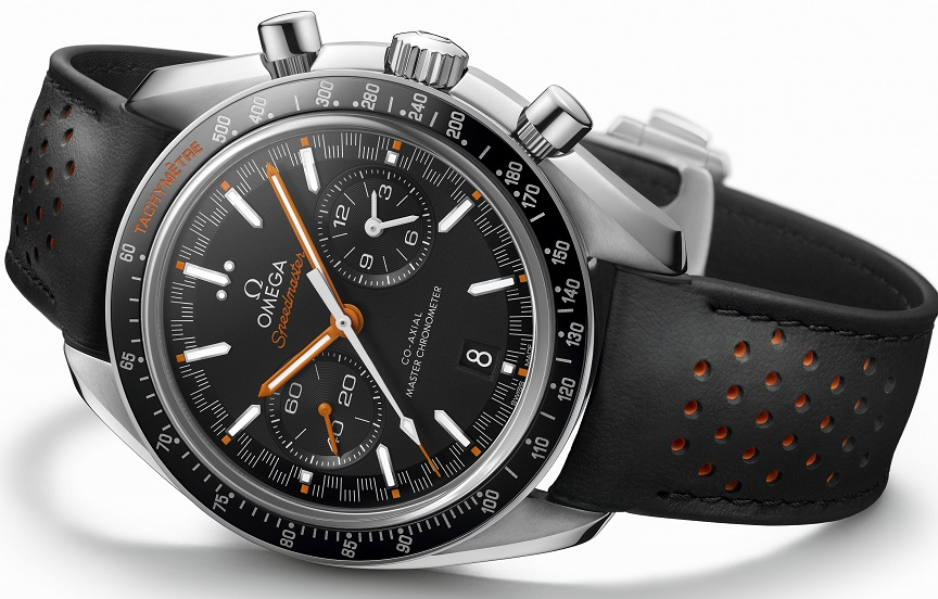 2017 Omega Speedmaster Racing Master Chronometer.