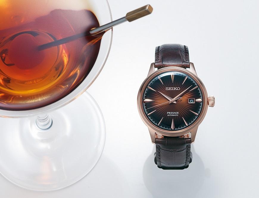 De Seiko Presage Cocktail SRPB46J1 - € 540,-