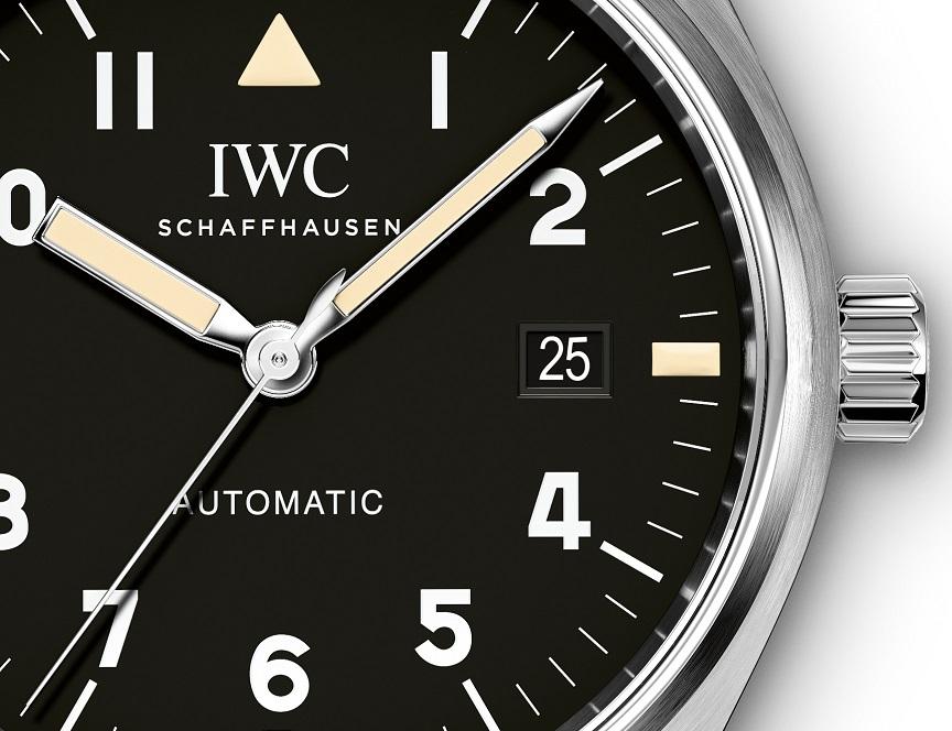 IWC Pilot's Watch Mark XVIII detail. jpg