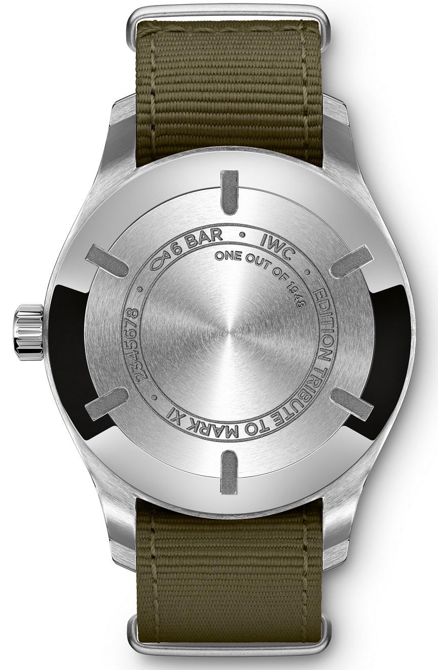 IWC Pilot's Watch Mark XVIII_kastdeksel