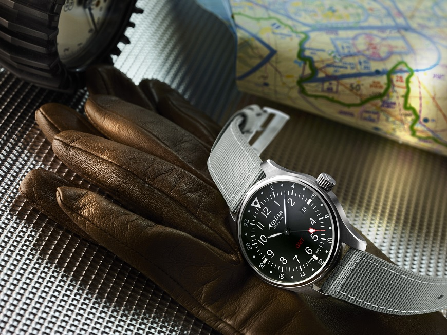 Alpina Startimer Pilot Quartz GMT