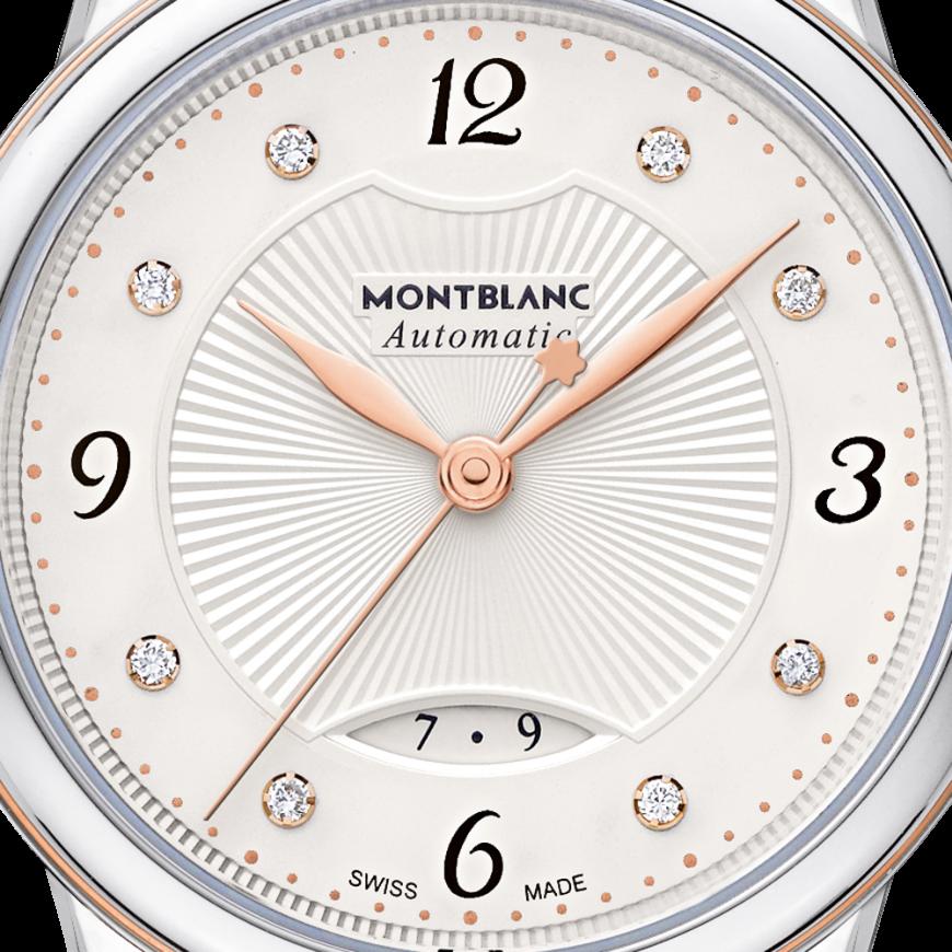 Montblanc Bohème Automatic Date 28 mm_dail
