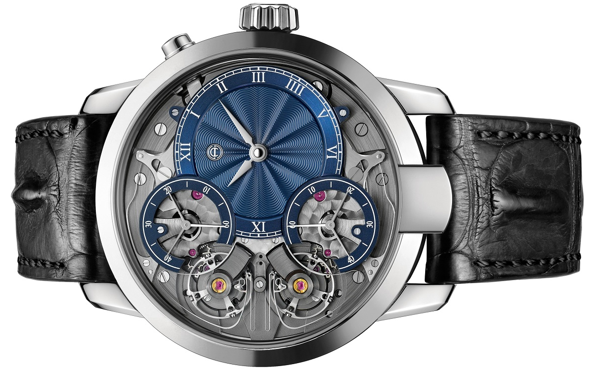 Armin Strom Mirored Force Resonance Guilloche Dial