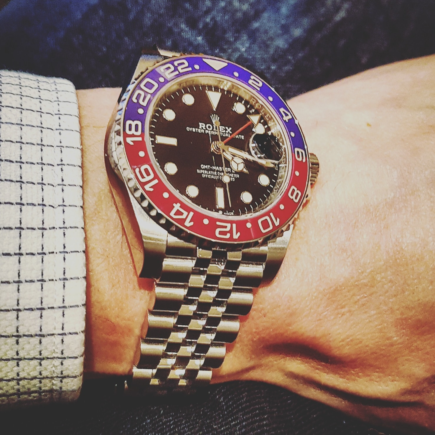 Rolex GMT Master II 'Pepsi' in staal