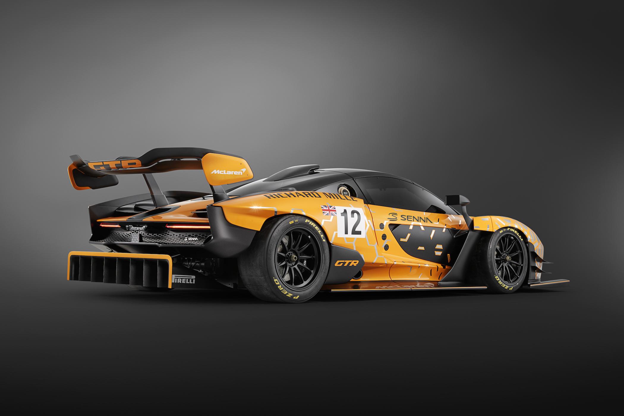 Bijpassende auto bij het horloge, de McLaren Senna GTR Concept