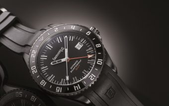 "Eberhard & Co. Scafograf GMT ""The Black Sheep"""