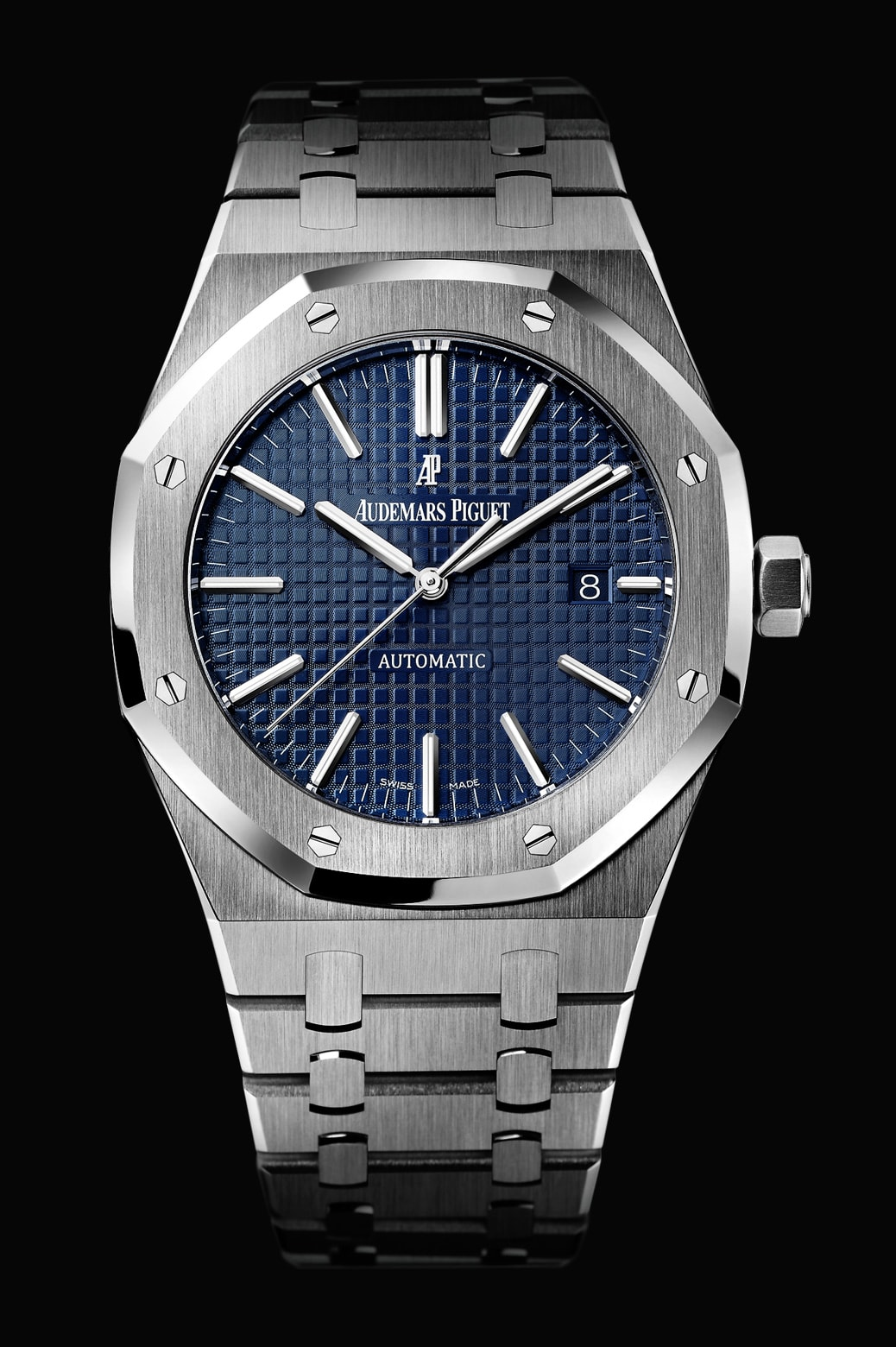 De Overseas World De stalen Audemars Piguet Royal Oak Selfwinding 41mm 15400ST