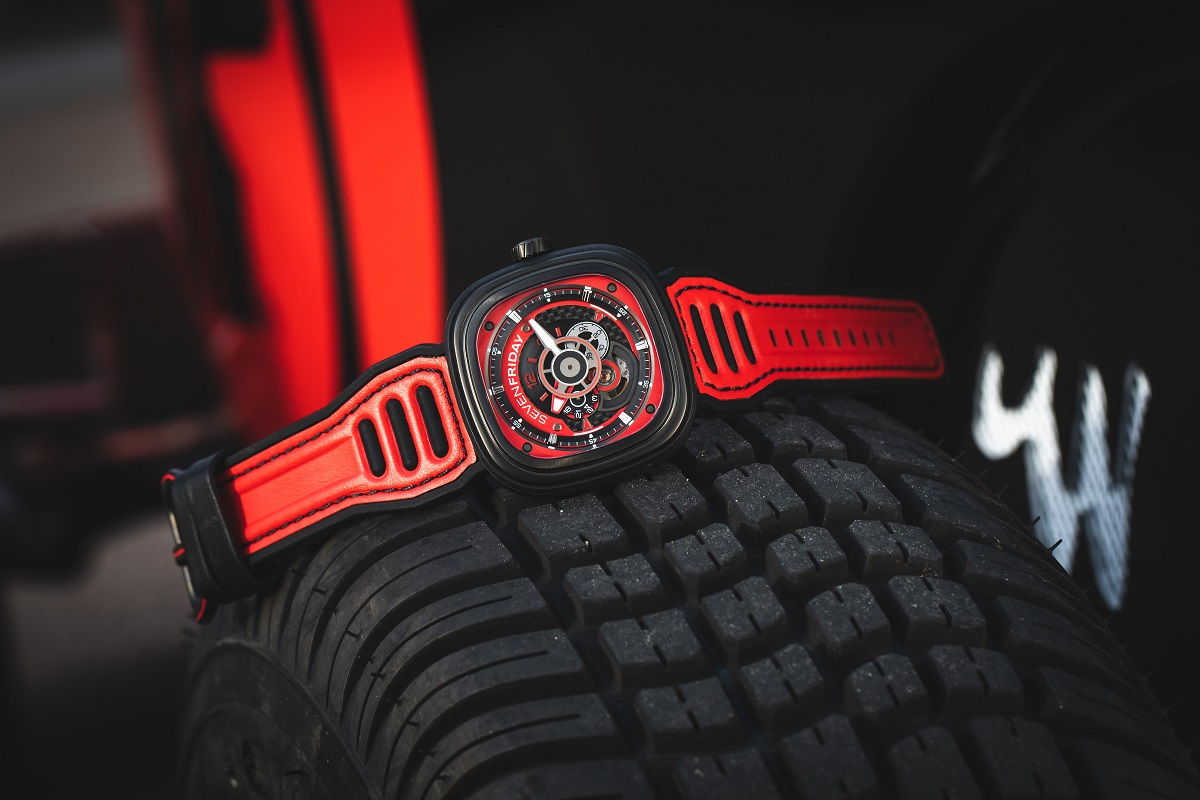 SevenFriday P3B/03 Red