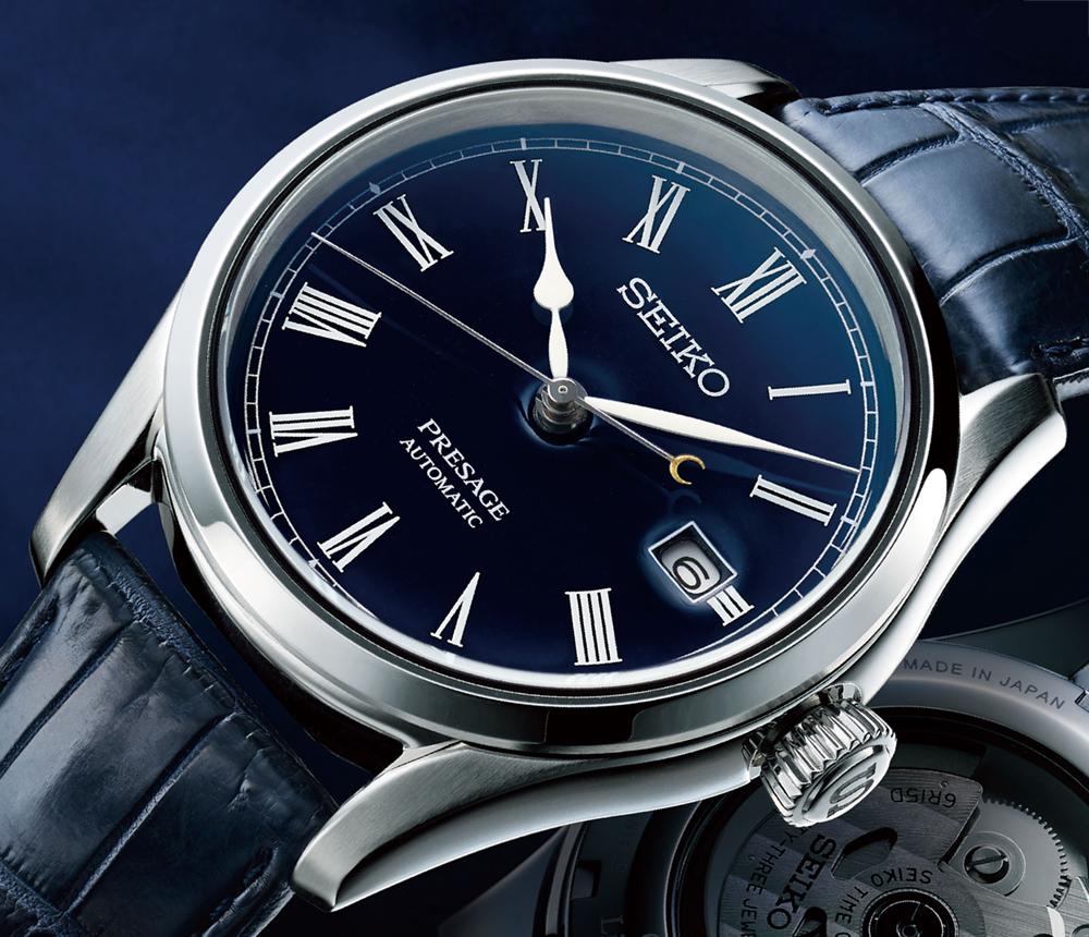 Seiko Presage Shippo Enamel Limited Edition | Horloge.info