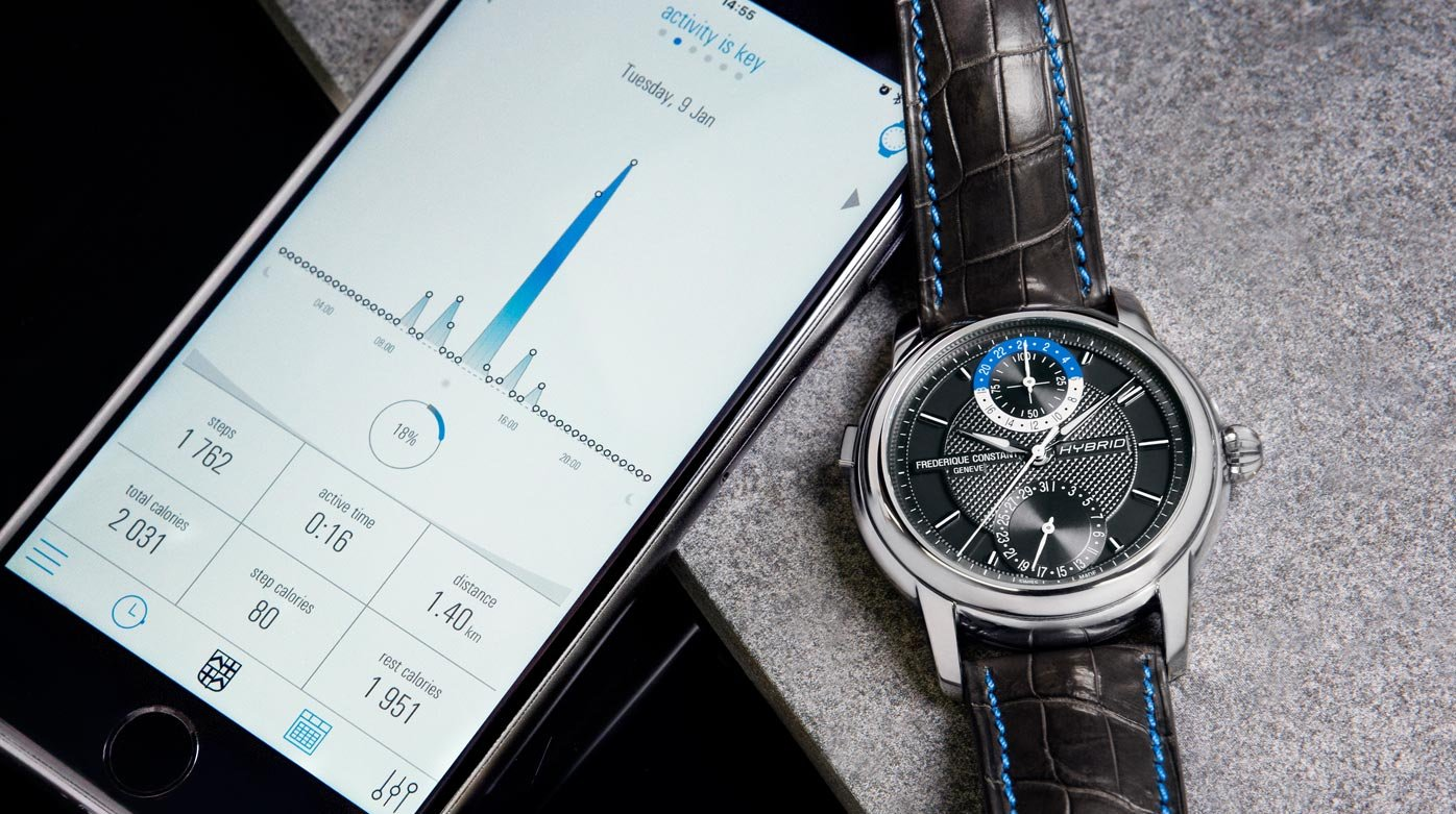 De meest Zwitserse smartwatch van allemaal, de Frederique Constant Hybrid Manufacture